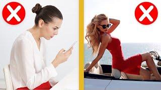 10 Things Elegant Ladies NEVER Do!