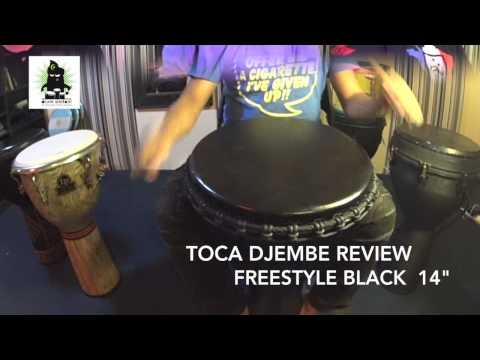 Djembe Review : TOCA Freestyle Black Series 14″ (HD) | by Drum Simfoni