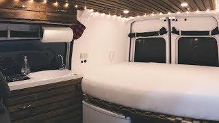 Van Tour - Transit Connect Camper Conversion
