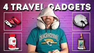 Testing 4 Weird Travel Gadgets!