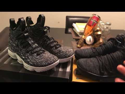 Nike Lebron 15 vs  Nike KD 10 Basketball Shoe Review Comparison