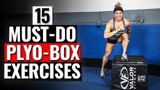 15 MUST DO Plyometric Box Exercises // Build STRENGTH & Increase POWER