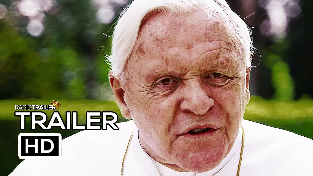 Jonathan Pryce, Anthony Hopkins: The Two Popes, 2019