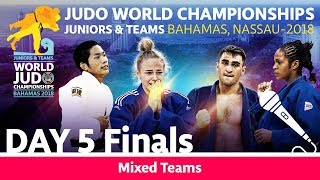 World Judo Championship Juniors 2018: Teams - Final Block