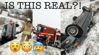 FAHREFILMS CRASHES BMW E36!! ACTUAL FOOTAGE!