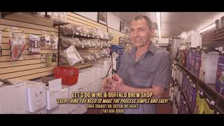 "DISC 228 - ""Let's do wine & Buffalo Brew Shop"". Depew, NY"