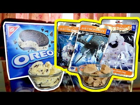ASTRONAUT FOOD Vs. REAL FOOD
