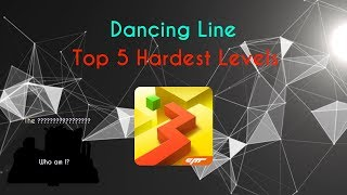 Dancing Line - Top 5 Hardest Levels