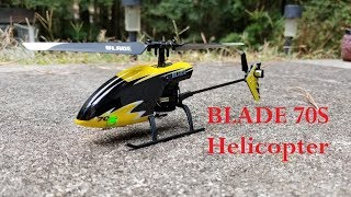 Micro RC Helicopter | Blade 70S Flybarless | Unboxing | RC Fun Flight