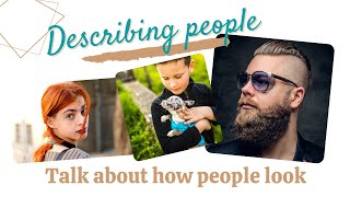 Describing People PPT English Only
