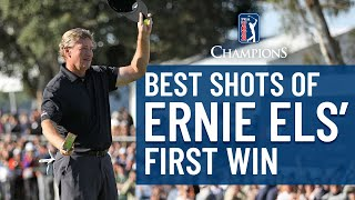 Best From Ernie Els' First Win Since Turning 50