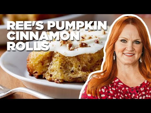 How to Make Ree's Pumpkin Cinnamon Rolls | Food Network