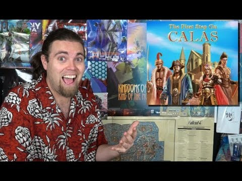 The First Step on Calas - Board Game Review - Unfiltered Gamer