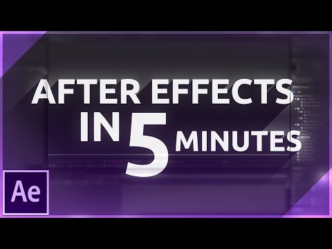 Learn After Effects in 5 MINUTES! Beginner Tutorial
