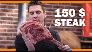 How to grill a $150 Tomahawk Steak - Video Youtube