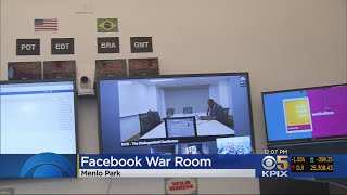 Facebook Sets Up 'War Room' To Monitor Activity Leading Up To Midterm Election