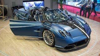 50 best supercars in 89th Geneva Motor Show!!