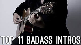 TOP 11 BADASS Songs On Guitar