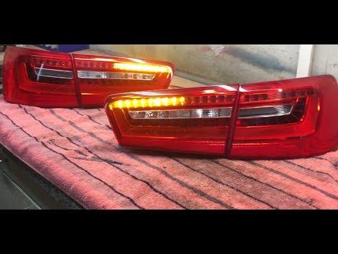 Audi A6 4G C7 Dynamischer Blinker / Dynamic blinker Taillights A6