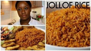 How To Cook Jollof Rice | Ivonne Ajayi