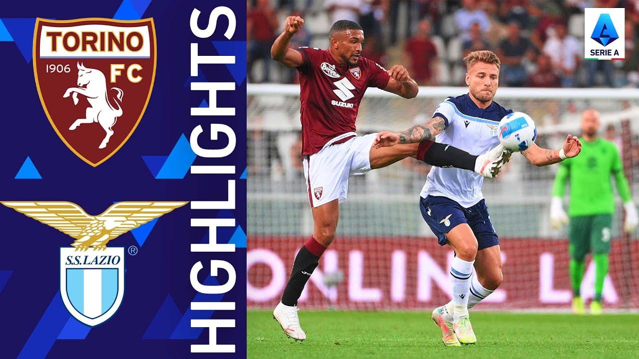 2021/22 تورينو 1 - 1 لاتسيو   فريق ساري يعود بنقطة من تورينو   الدوري الإيطالي