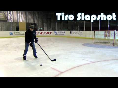 Tipos de tiros en hockey hielo