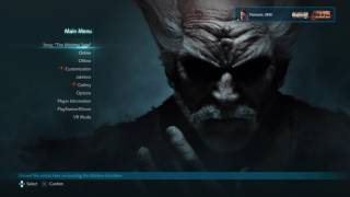 Tekken 7 Main Menu Theme Song (Repeated and Extended)