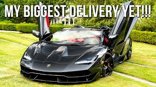 2017 Lamborghini Centenario Roadster LP 770-4 - My Biggest Delivery Yet!!!