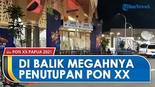 Di Balik Megahnya Penutupan PON XX Papua, Puluhan Relawan Bersihkan Sampah di Stadion Lukas Enembe