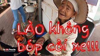 Phượt ở Lào (Phần 8) Đường phố Lào chẳng còi xe và câu chuyện xúc động bà lão người Lào   PHONG BỤI
