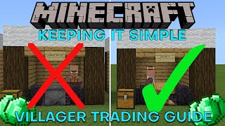 How to trade with villagers