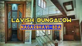 Lavish Bungalow in Nagarbhavi- 4 BHK Triplex with Home Theater | Bengaluru