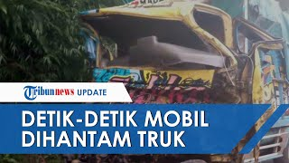 Sopir Ceritakan Detik-detik Mobilnya Dihantam Tronton di Tanjakan Kalijambe Magelang-Purworejo