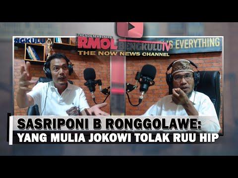 Syekh Sasriponi B. Ronggolawe: Yang Mulia Jokowi Tolak RUU HIP