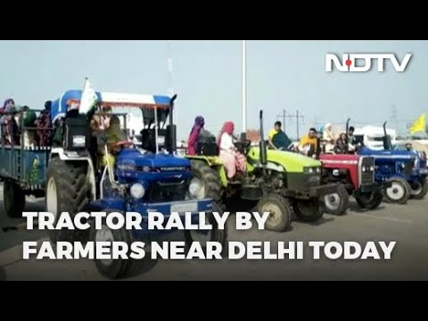 Farmers Protest | Tractor Rally By Farmers Near Delhi Today, Traffic Diversions