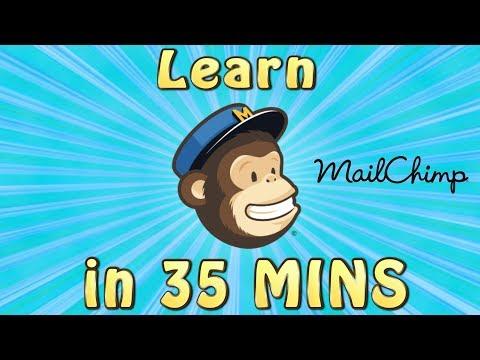 Mailchimp Tutorial   LEARN MAILCHIMP FAST IN 35 MINS! - Full ...