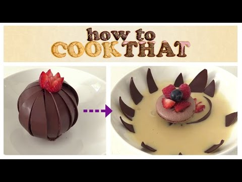 Video MAGIC CHOCOLATE FLOWER DESSERT How To Cook That Ann Reardon