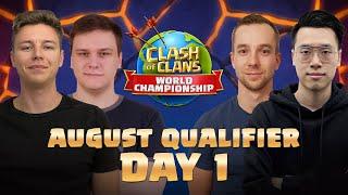 Clash Worlds August Qualifier Day 1 | Clash of Clans