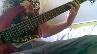 The Exploited - Cop Cars bass cover