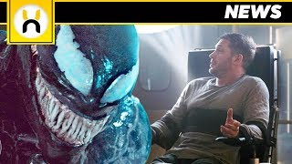 VENOM New Looks at Symbiote and Eddie Brock