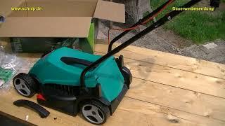 Rasenmäher elektro, Bosch ARM 32,Simpel ,kräftig und gut !