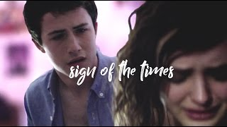 Hannah & Clay 13 Reasons Why   Sign Of The Times