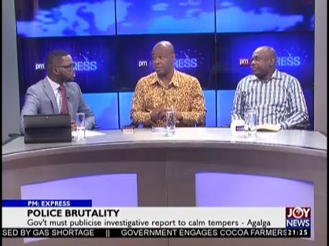 Police Brutality - PM Express on JoyNews (20-11-18)