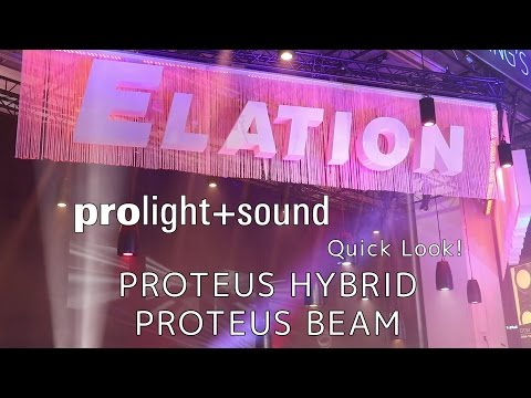 Elation Proteus Hybrid - Beam, Spot or Wash Fixture