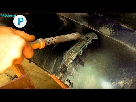 BMW E34 - правильный ремонт бампера