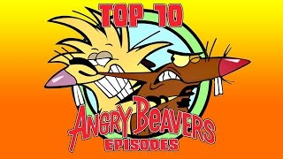Gambar cover Top 10 Angry Beavers Episodes