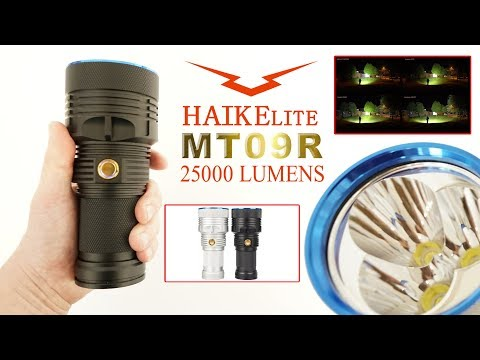 Haikelite MT09R 25000 Lumens - review
