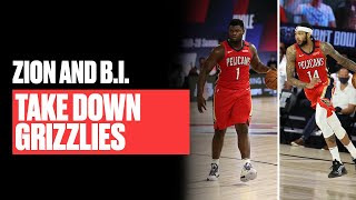 Zion Williamson & Brandon Ingram Took Over vs. Grizzlies   Game Highlights