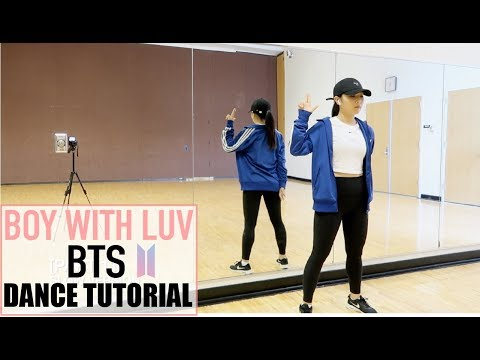 BTS (방탄소년단) '작은 것들을 위한 시 (Boy With Luv) Feat. Halsey' Lisa Rhee Dance Tutorial - Imlisarhee