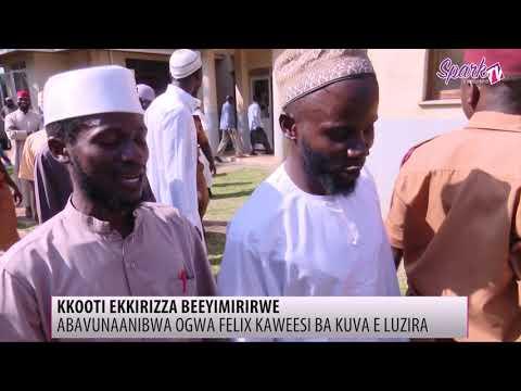 kkooti ekkirizza abavunaanibwa ogw'okutta Felix Kaweesi beeyimirwe